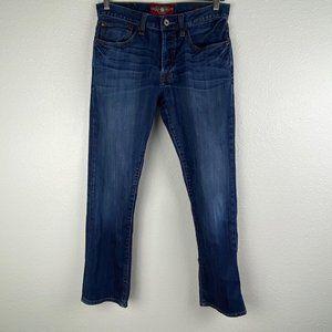 Lucky Brand 121 Heritage Slim Blue Jeans Sz 29x30